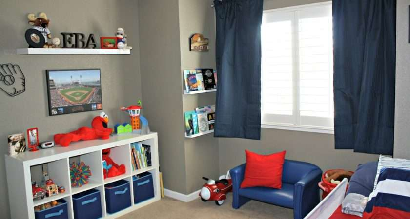 Themed Room Accents Red White Blue Perfect