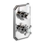 Thermostatic Shower Valve Traditional Round Way Mixer