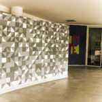 These Breath Taking Tiles Hall White Grey Colors Create