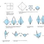 These Instructions Create Origami Crane