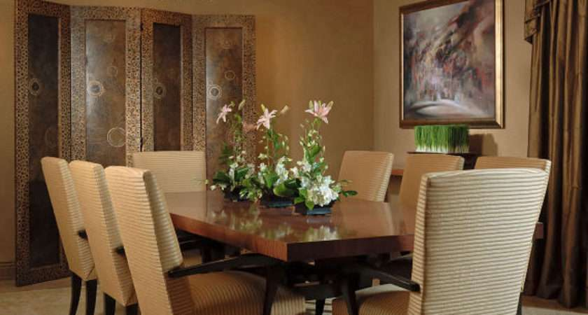 Think Out Box Asian Dining Room Design Ideas