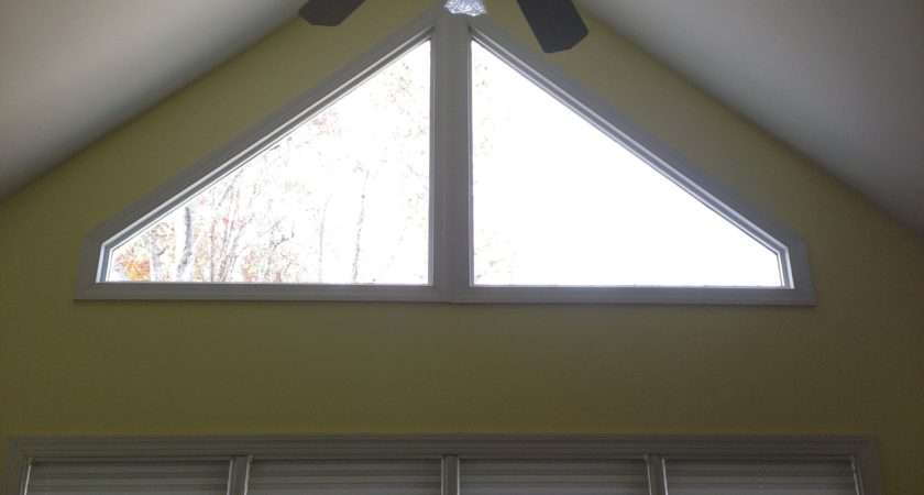 Thoughts Covering Triangular Window