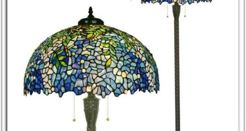 Tiffany Style Floor Lamps Flooring Home Decorating