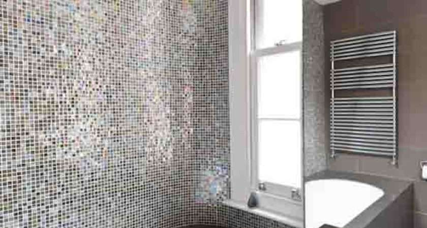 Tile Backsplash Bath Design Ideas Modern Bathroom Mosaic