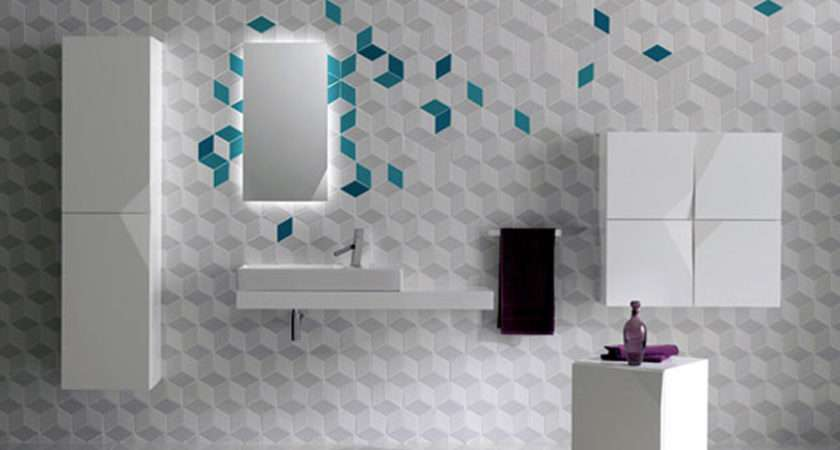 Tiles Throughout Modern Bathroom Top