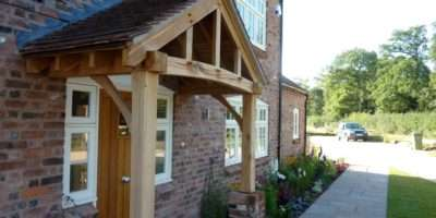 Timber Frame Front Porch Joy Studio Design