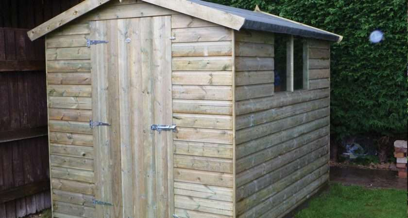 Timber Sheds Pressure Treated Longer Life