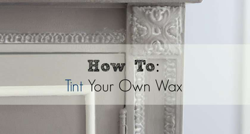 Tint Apply Furniture Wax Finding Silver Pennies