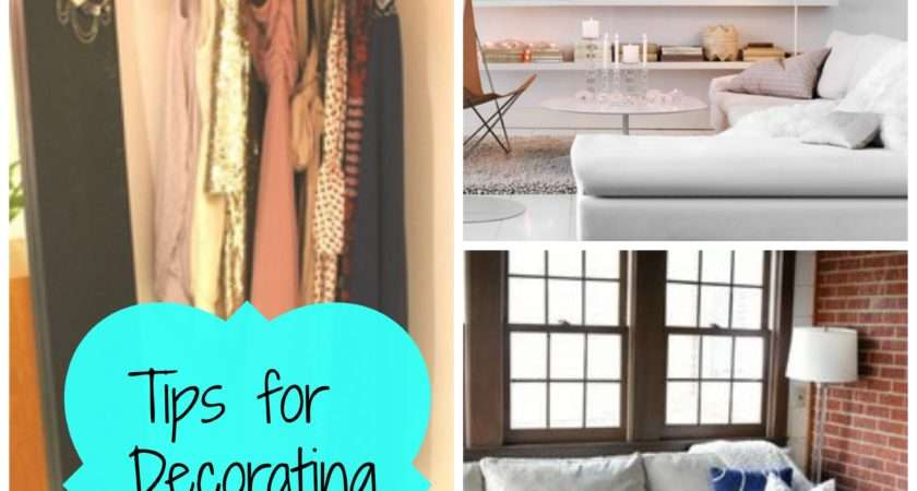 Tips Decorating Your Apartment Rental Home Dorm