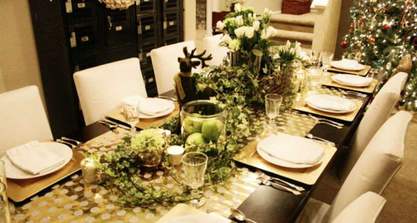 Tips Decorating Your Christmas Table Jones Design