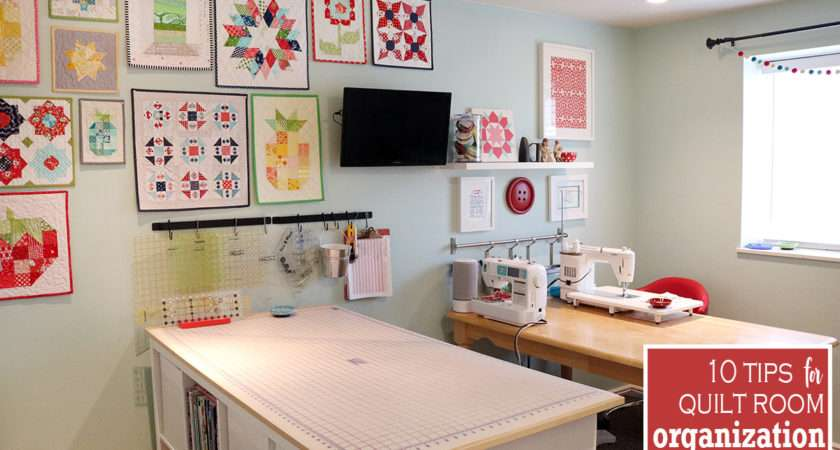 Tips Organize Your Sewing Room