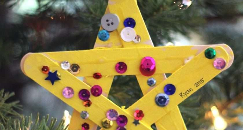 Toddler Approved Sparkly Star Craft Toddlers