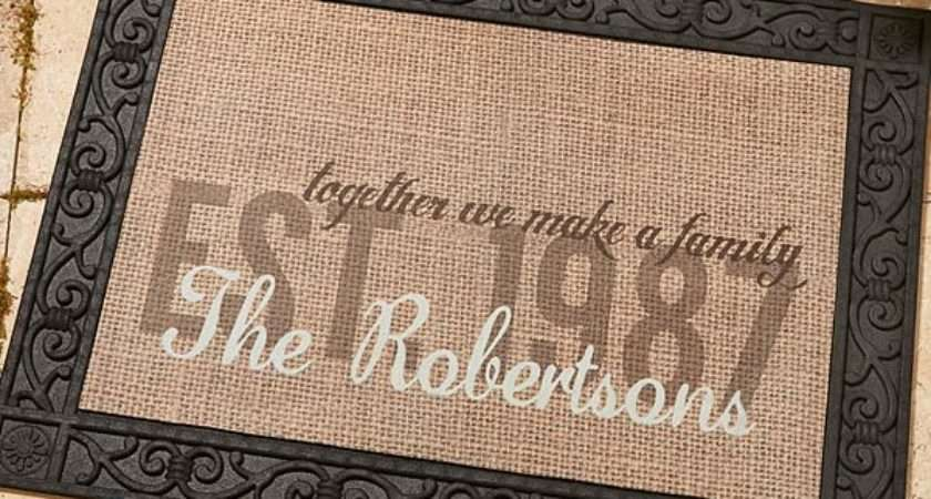 Together Make Personalized Doormat