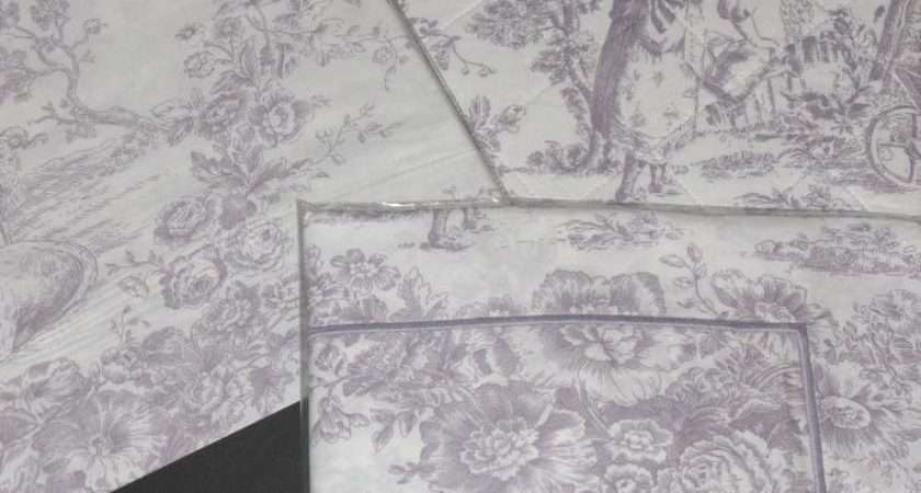 Toile Jouy Lilac Duvets Perfectlyboxed