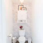 Toilet Room Makeover Reveal Clever Bathroom Storage