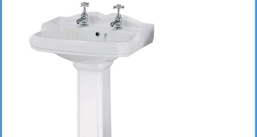 Toilet Sink Basin Set Suite Cloakroom Traditional Tap