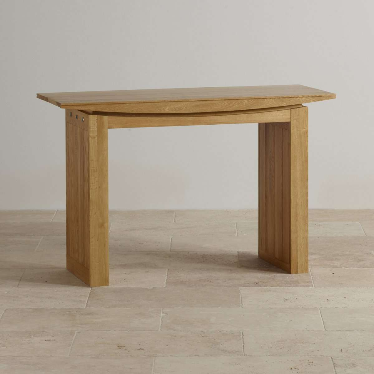 Tokyo Console Table Natural Solid Oak Furniture Land