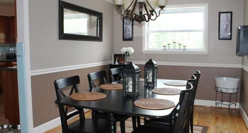 Tone Walls Dining Room House Home Pinterest
