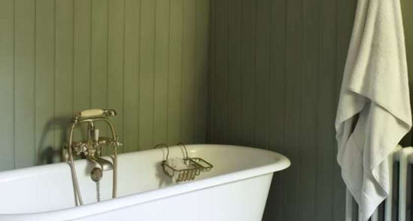 Tongue Groove Panelling Relaxed Bathroom Design