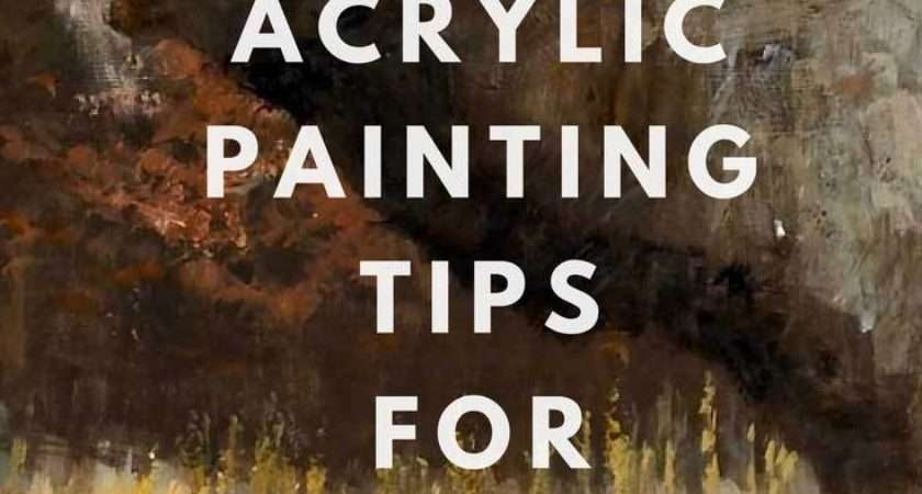 Top Acrylic Painting Tips Beginners