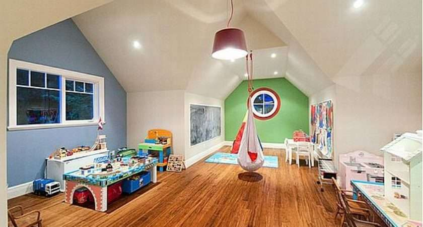 Top Beautiful Playroom Design Ideas