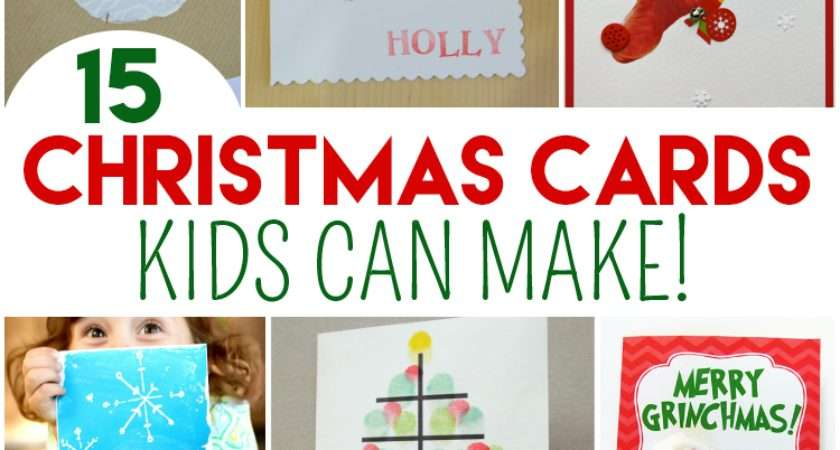 Top Christmas Cards Kids Can Make