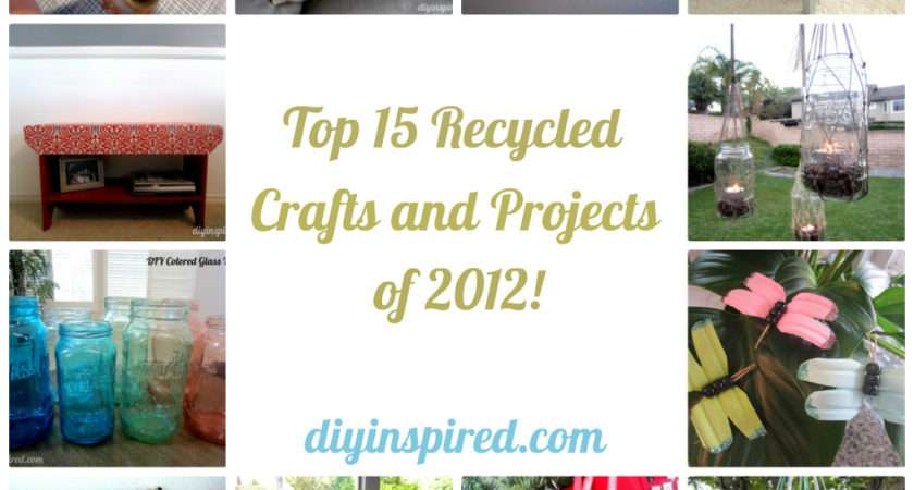 Top Recycled Crafts Projects Diy Inspired