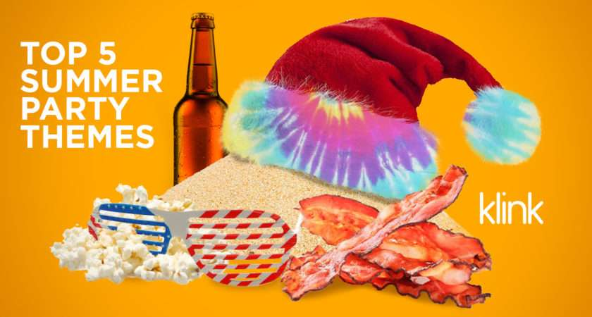 Top Summer Party Themes Klink