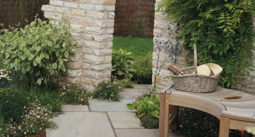 Traditional Cottage Garden Paving Ideas