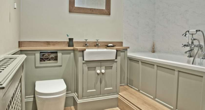 Traditional Fitted Bathroom Furniture Home