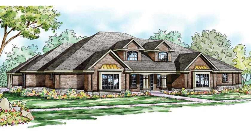 Traditional House Plans Monticello Associated