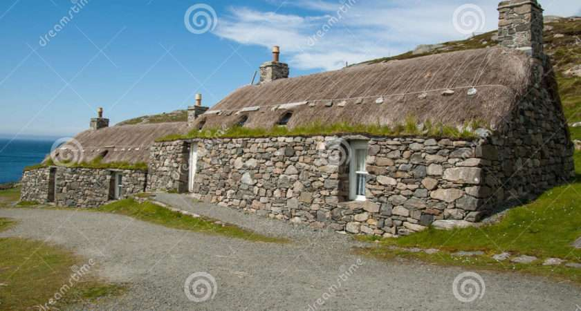 Traditional Houses Highland Scottish Village