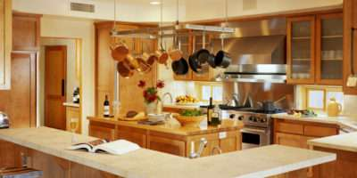 Traditional Kitchen Themed Feat Wooden Furniture