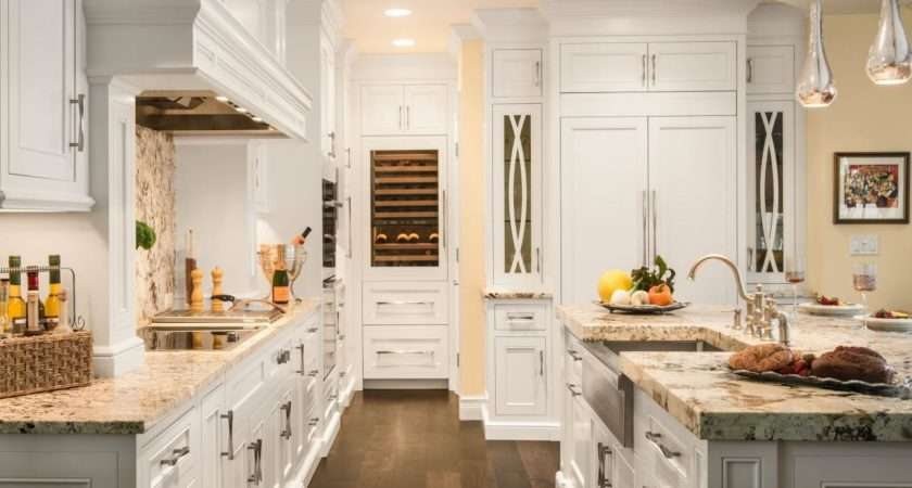 Traditional Kitchen Uses Custom Wood Cabinetry Chef