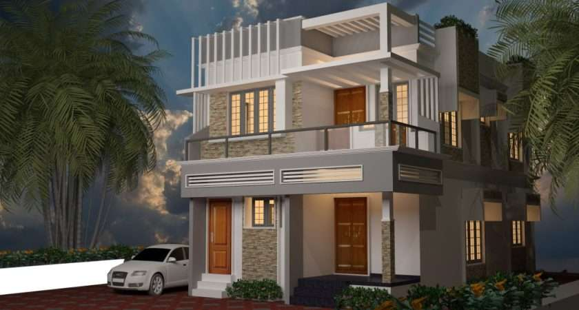 Traditional Model Simple Look Kerala Home Plans