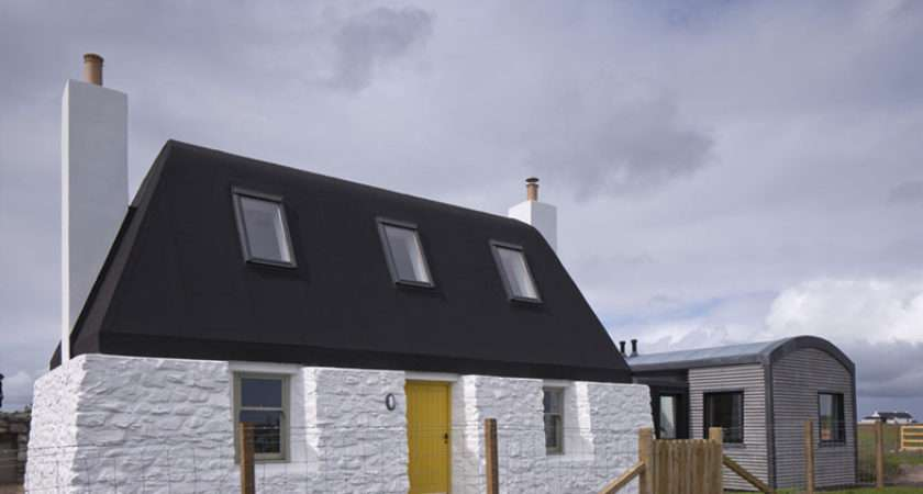 Traditional Scottish Cottage Reinvented Chic