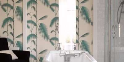 Tranquil Fern Print Bathroom