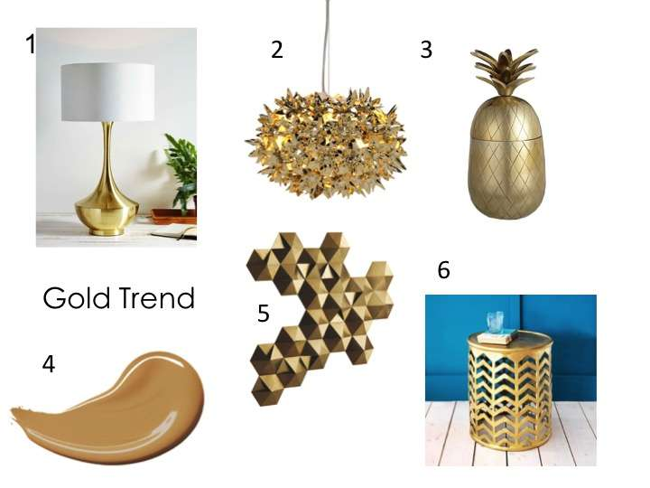 Trend Gold Sophie Robinson
