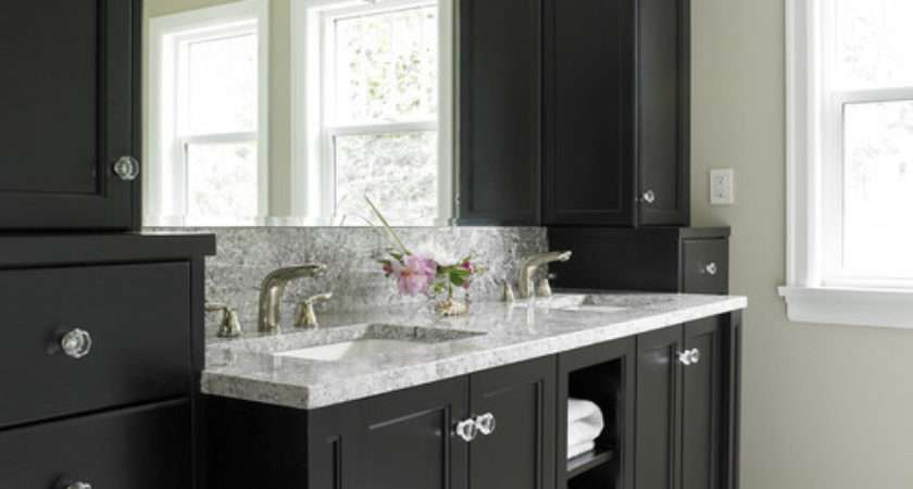 Trend Homes Trendy Black Bathroom Furniture