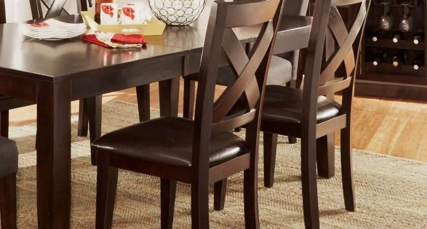 Tribecca Home Acton Warm Merlot Back Casual Dining Side