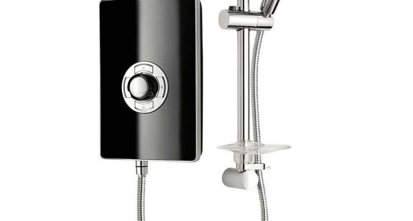 Triton Collections Electric Shower Black
