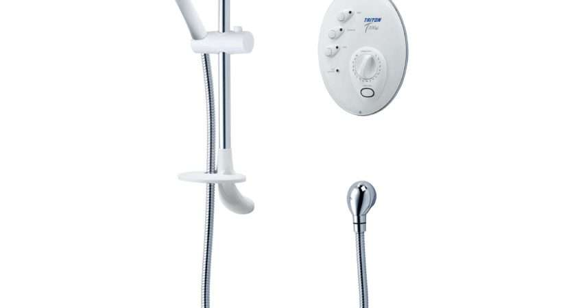 Triton White Electric Shower Departments