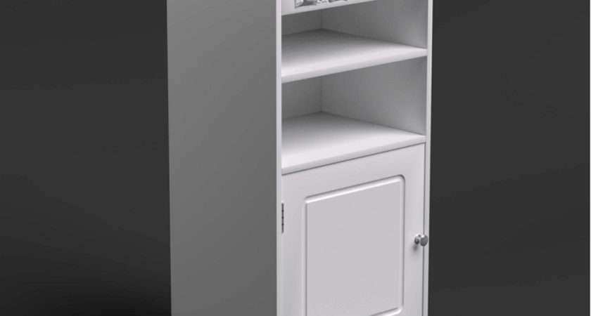 Tropez Utility Bathroom Cabinet Glenross Furniture