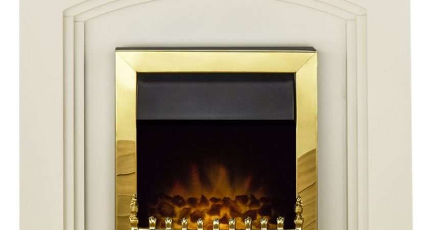 Truro Electric Fireplace Suite Ivory