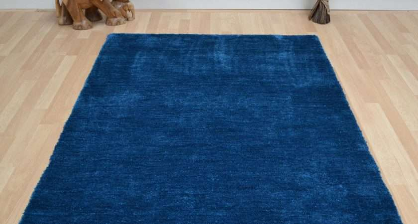 Tula Plain Rugs Dark Teal Delivery Rug