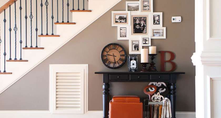 Turn Blank Wall Under Stairs Into