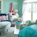 Turquoise Paris Themed Room Bedroom Pinterest