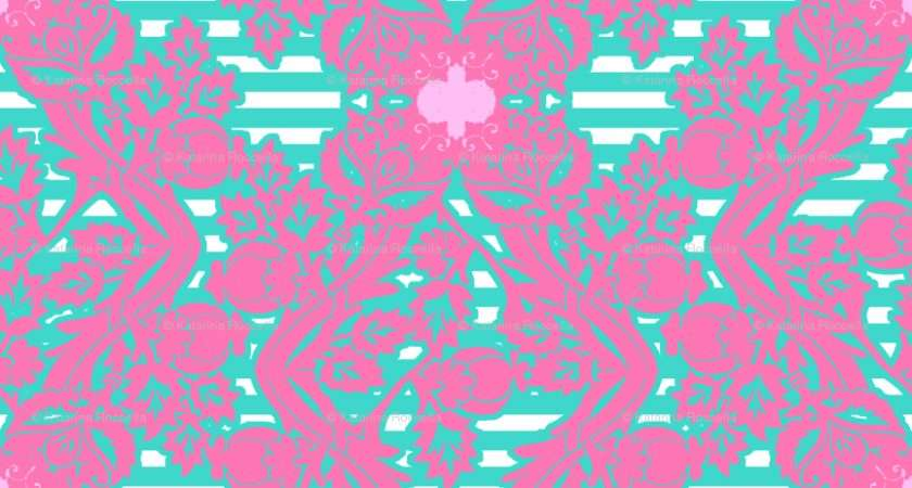Turquoise Pink Bits