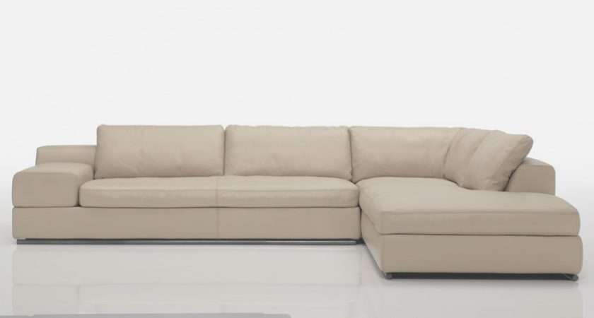 Twin Leather Corner Sofa Modular Sofas Modern