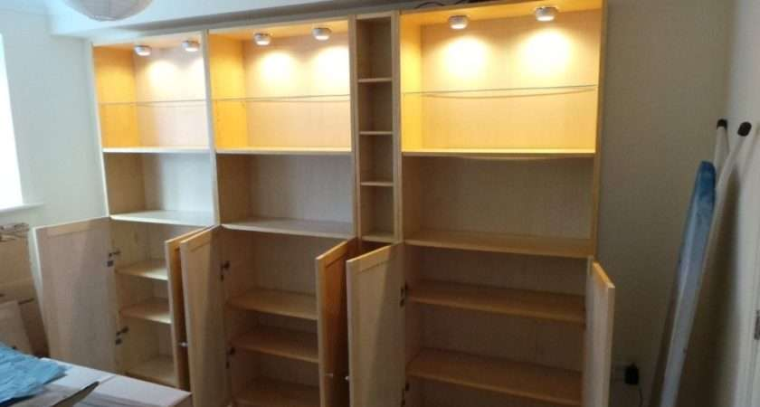 Two Ikea Billy Bookcases Posot Class